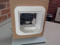 Cat flap rear view